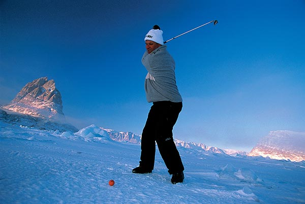 The tourament was started in 1997 by local resident Arne Neimann.                                                                                 Golf's Frozen 4 | Winter Survival Guide