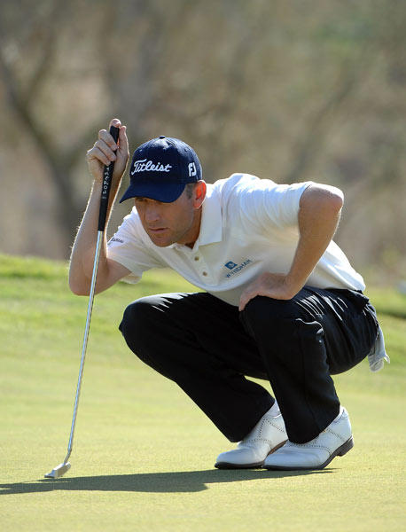 Last week's winner George McNeill moved into contention after a two-under 68.