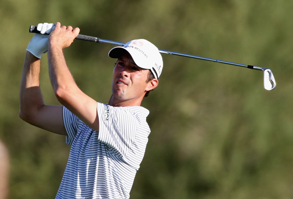 , the 2007 winner, shot a four-under 66.