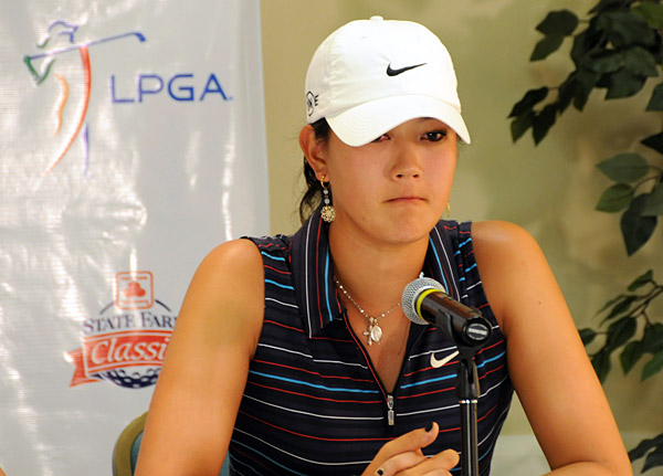 Michelle Wie was one shot off the lead going into the final round of the State Farm Classic, but she was disqualified after it was discovered she didn't sign her scorecard after the second round. Wie did not make enough money to earn a Tour card, and she was forced to enter LPGA qualifying school.