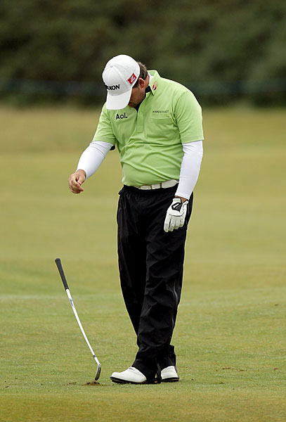 Graeme McDowell only managed to shoot even par on the back nine. He finished tied for third.