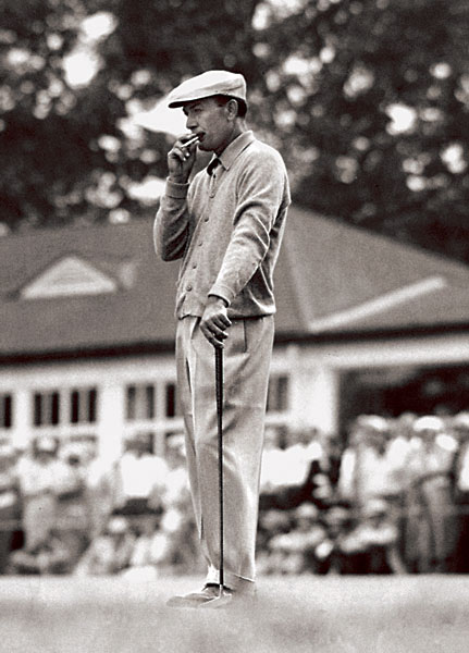 3. Perhaps it was his lean 5-foot-7 frame, but no golfer has ever worn clothes better than Ben Hogan. Impeccable tailoring added to his formidable mystique as one of golf's all-time grinders. His ever-present cigarette was as much an accessory as a woman's broach. Hogan's dress was the model for the country club golfer that emerged shortly after World World II.