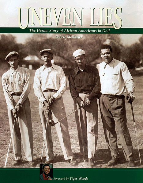 5. Teddy Rhodes, second from right, was an African-American golfer who won more than 150 tournaments on the United Golf Association, the golf equivalent of the Negro Leagues. Rhodes had a hipster style with influences from jazz greats such as Dizzy Gillespie, Cab Callaway, and Duke Ellington.