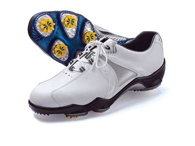"Leaders of the Rack                       This gear isn't just hot, it's burning                       holes in stockroom shelves. These products were the unit market share leaders for on- and off-course retail for July 2007, according to Golf Datatech, LLC.                       HOTTEST PREMIUM SHOE                       FootJoy DryJoy                       The hook: A precision-engineered                       outsole featuring stability ""PODS""                       helps more of the shoe stay in                       contact with the ground throughout                       your swing. $160, footjoy.com"