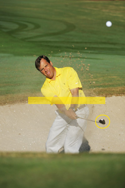 How to Get Every Bunker Shot Close                            The secret for longer and shorter shots is in your release                           By Eden Foster                           Top 100 Teacher                                                                                 This story is for you if...                                                      • You're happy with just getting out of bunkers...                                                      • ...and don't even think about leaving the ball close to the hole.                                                      The Problem                           You're not a very strong bunker player, and when you do get out of the sand on your first swing, the ball never lands close to the hole, making it difficult to save par.                                                                                 The Solution                           The trick is to match how you release the club to the distance you're facing — everything else in your bunker swing should stay the same.                                                      For bunker shots of less than 10 yards...                           Make an abbreviated finish with your hands stopping below waist height. As you do this, keep your right arm from turning over your left so you don't release the club like you do on your regular full swing. Notice how this non-release keeps the clubface open and creates a softer ball flight. The softer the shot, the shorter the distance it will carry.