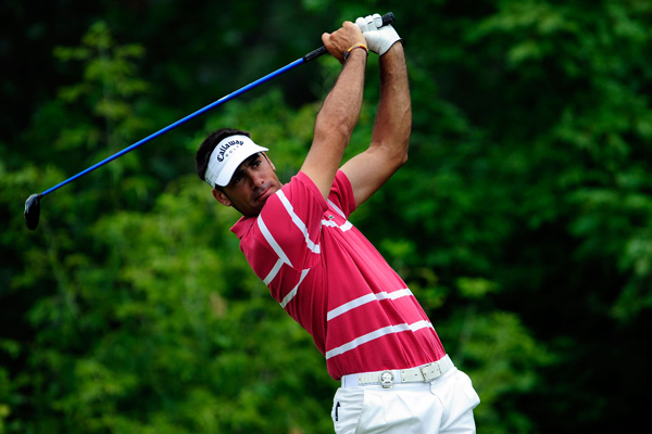 "The secret to his 315-yard drives is a picture-perfect setupAnalysis by Top 100 Teacher Mike PerpichRiverPines Golf, Alpharetta, Ga.                                              You may not know the name Alvaro Quiros, but you'll soon know his game. The 6'3"", 26-year-old Spaniard has quickly become the longest-hitting Tour professional in the world, posting a gaudy 315-yard average on the European circuit. Tiger Woods jokingly called Quiros ""stupid long"" at the PGA Championship, where the Spaniard finished 24th, and his win at the 2009 Qatar Masters proves he's more than just the big bomber du jour.                                              One of the reasons Quiros is able to generate such eye-popping distance is, ironically, his setup, which features zero moving parts. His address position and posture are impeccable. With everything set so correctly at the start, Quiros can store up tremendous power and energy without worrying about his club and shaft falling off plane. This allows him to apply everything in his swing to the back of the ball. When you have to make compensations during your backswing or downswing, your speed and energy drop like a lead Titleist. For power or accuracy, Alvaro Quiros's swing is an excellent one to copy."