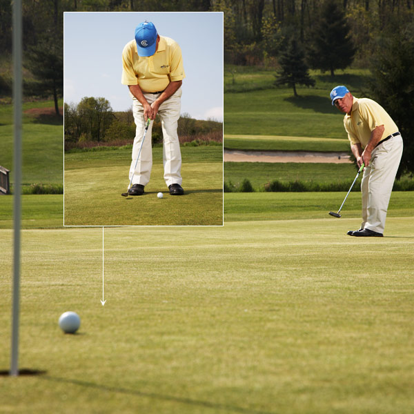 The Easy Way To Lag Putts Close                            With this technique, your second putt will always be a short putt                                                      By Ted Sheftic                           Top 100 Teacher                                                      This story is for you if...                                                      • You don't hit your approach shots close enough for a one-putt.                                                      • You almost always three-putt outside of 30 feet.                                                      The Situation                                                      Most of your approach shots land farther than 30 feet from the pin. You're three-putting like crazy because you can't get the speed right.                                                      The Solution                                                      Hit the practice green and find a nice flat spot (you don't need a hole). Settle into your stance and follow these steps:                                                                                 Step 1                                                      Take the putterhead back to your right toe using your normal tempo and rhythm, and then strike the putt as you normally would. Once the ball stops rolling, walk off the distance (it should be about 18 to 20 feet).