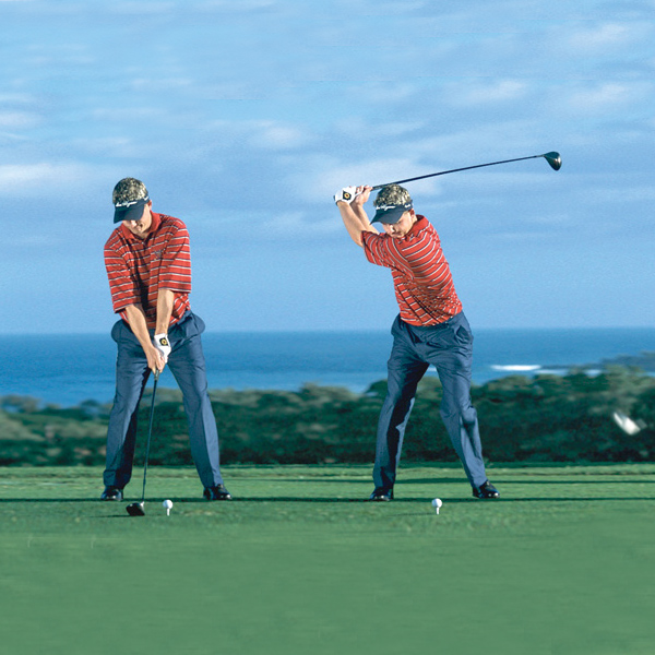 Max factors                                                      You can vary your O-Factor angles except at the moment of truth                                                      CLASSIC FACTOR                           How Luke Donald does it                                                      Through impact, Donald gives the feeling that he's hitting the ball with his right hip, not the clubhead. Notice how his hip and shoulder angles set up an ascending sweep of the clubhead through impact. He's just another example that big drives can come from small packages.                                                      Address: Slightly positive O-Factor with shoulders that match his hips.                           Top: Neutral O-Factor with perfect left-knee drive and right-leg brace.