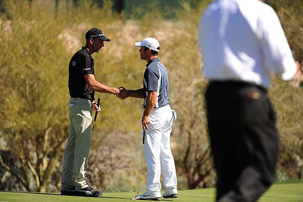 Ogilvy and Casey are friends, and neighbors in Scottsdale, Ariz., where they are both members at Whisper Rock.