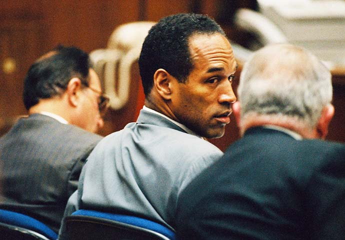 O.J. Simpson verb Getting away with one