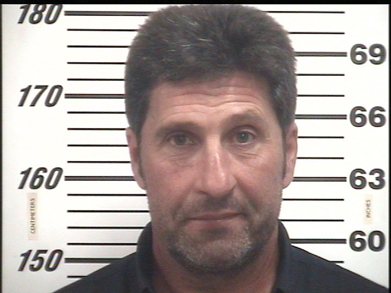 Jose Maria Olazabal                           The European Ryder Cup captain was busted going 97 miles per hour while driving from Augusta to Hilton Head. He immediately paid the $621 fine (in cash!), but unfortunately for Olazabal, the sheriff's department takes mugshots for anyone charged with a crime or citation.