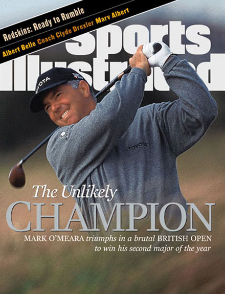Mark O'Meara wins the 1998 British Open at Royal Birkdale.