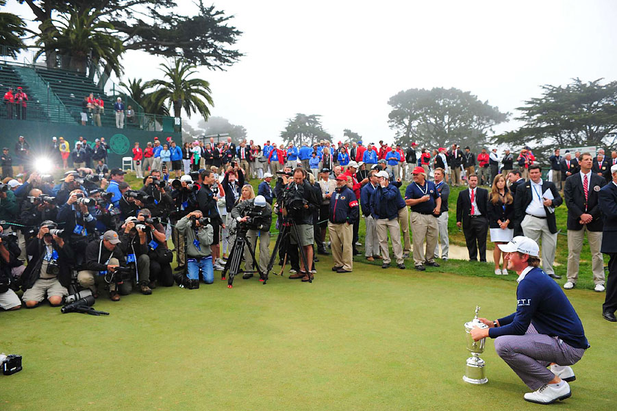 Webb Simpson won the 2012 U.S. Open Sunday at the Olympic Club.