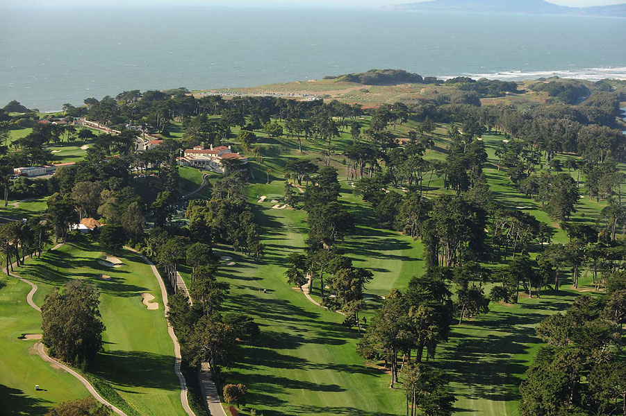 The Olympic Club is hosting its fifth U.S. Open.