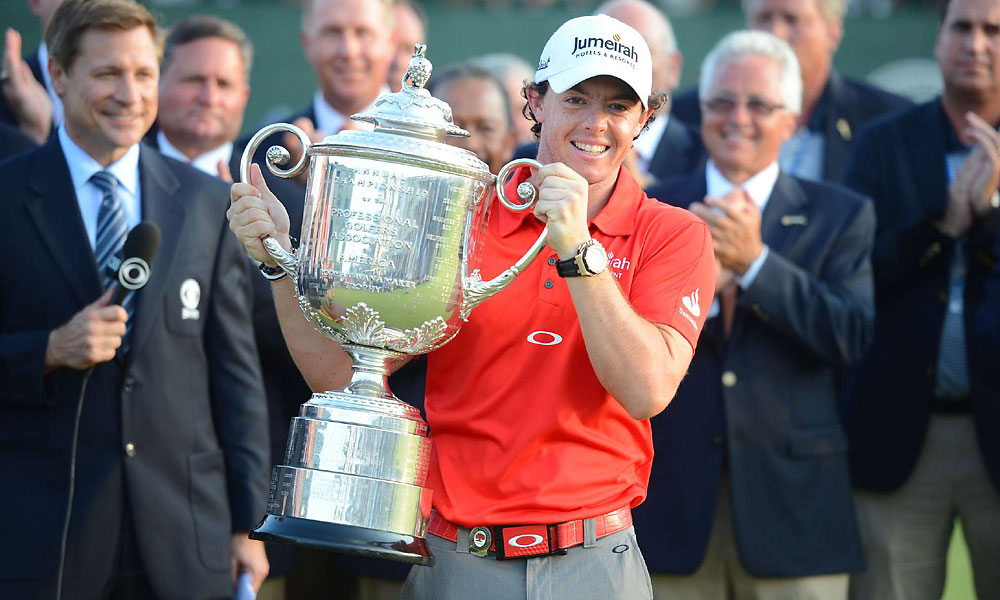 Rory McIlroy won the 2012 PGA Championship at the Ocean Course in Kiawah.