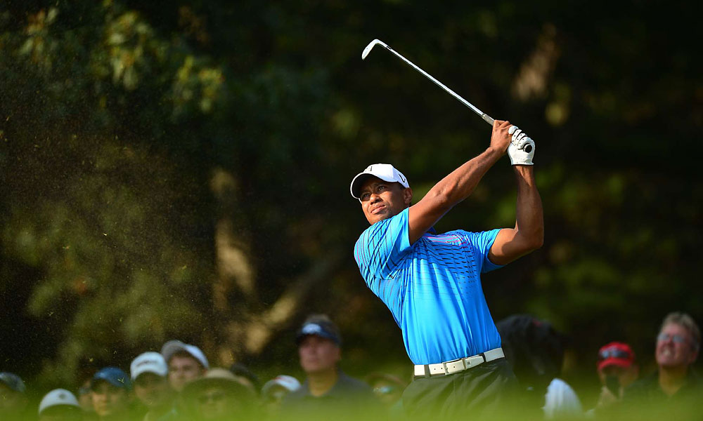 Tiger Woods was off to a promising start after a two-under 69 on Friday.