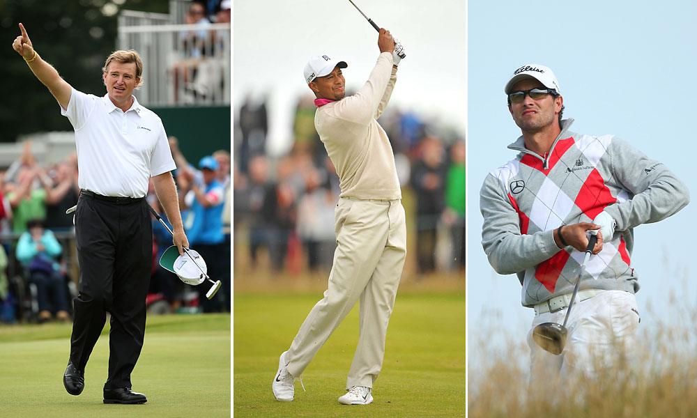 During the Open Championship at Royal Lytham & St. Annes, many top pros played conservative golf, hitting irons off the tee and generally avoiding trouble. But when it comes to their apparel, style guru Woody Hochswender says a lot of them played it pretty close to the vest, too. Here is his gallery of some of the most memorable looks seen at the British Open.