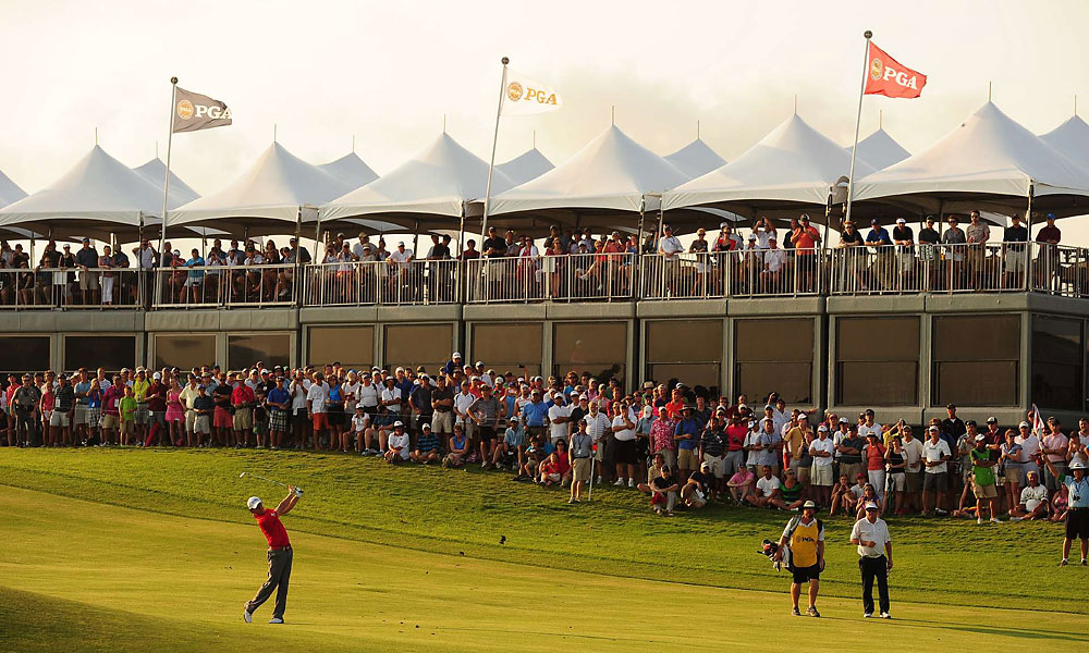 It was McIlroy's second major title. His first, at the 2011 U.S. Open, was also an eight-shot rout.