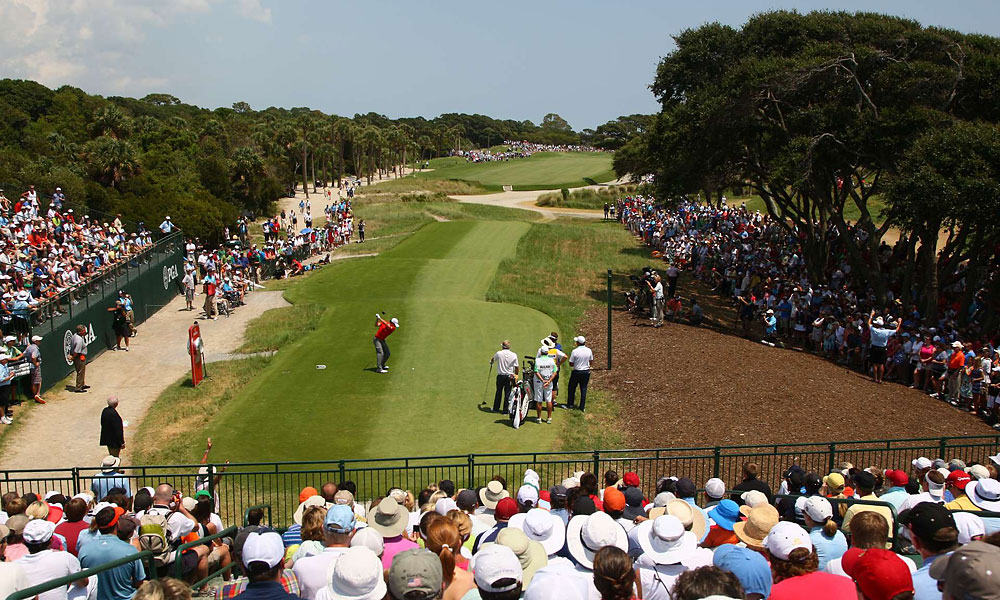 McIlroy pulled away from the field on Sunday.