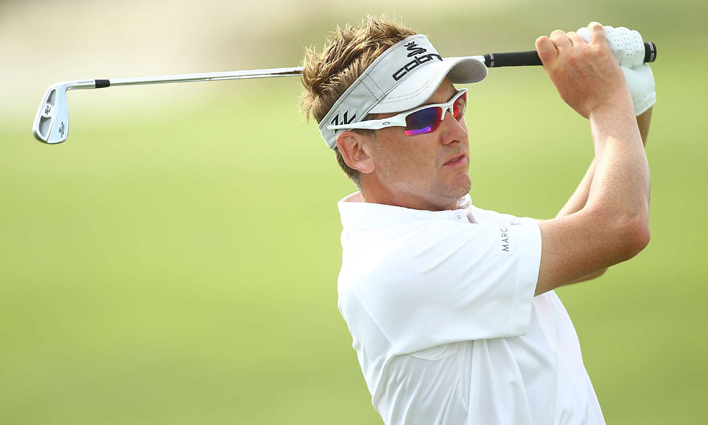Poulter dropped out of contention after making four bogeys on the back-nine.