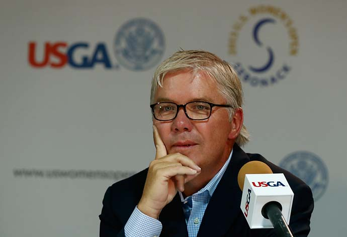 """The game has a significant legacy of exclusion and elitism that we must collectively work to overcome. We must take responsibility for our own shortcomings as an organization, both past and present.""                           --New USGA president Thomas O'Toole at USGA's annual meeting."