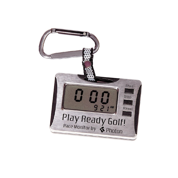 Photon Golf Digital Pace Monitor                           $19.99, photogolf.com                           Photon's Pace Monitor measures how fast your group, or the group in front of you, is playing. So the next time someone is slowing you down, you'll have all the proof you need.Complete Holiday Gift Guide