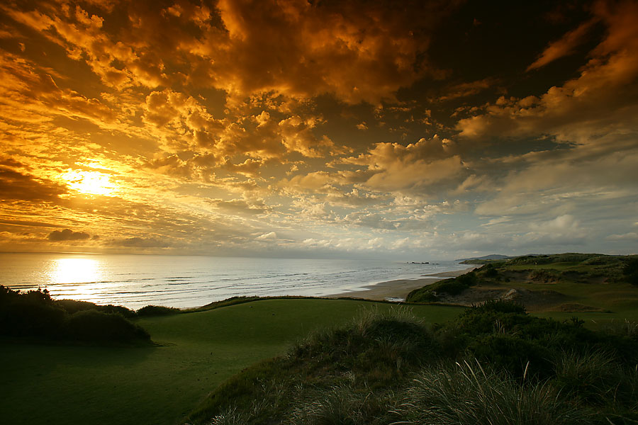 Pacific Dunes, Bandon Dunes, Ore.: Tom Doak's superb effort, the second layout at Bandon Dunes, debuted in 2001 and is No. 1 on Golf Magazine's Top 100 Courses You Can Play.