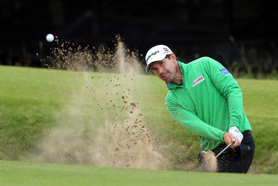 Padraig Harrington was coming off four straight top-15 finishes on the PGA Tour.