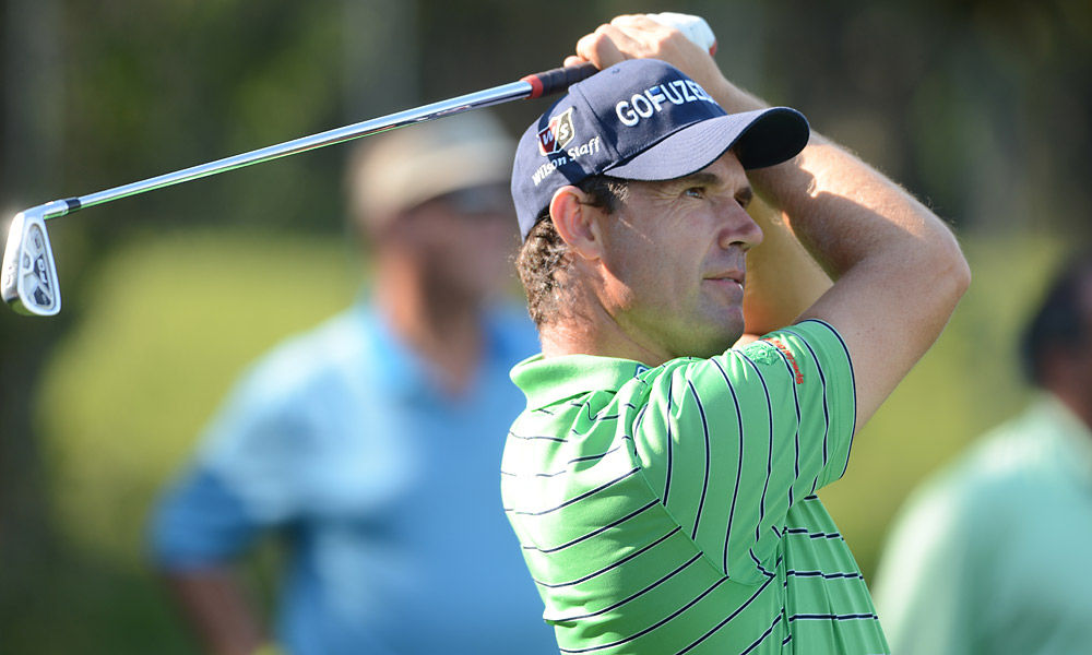 Padraig Harrington continues his quest to prove he's worthy of a spot on the European Ryder Cup team this week.