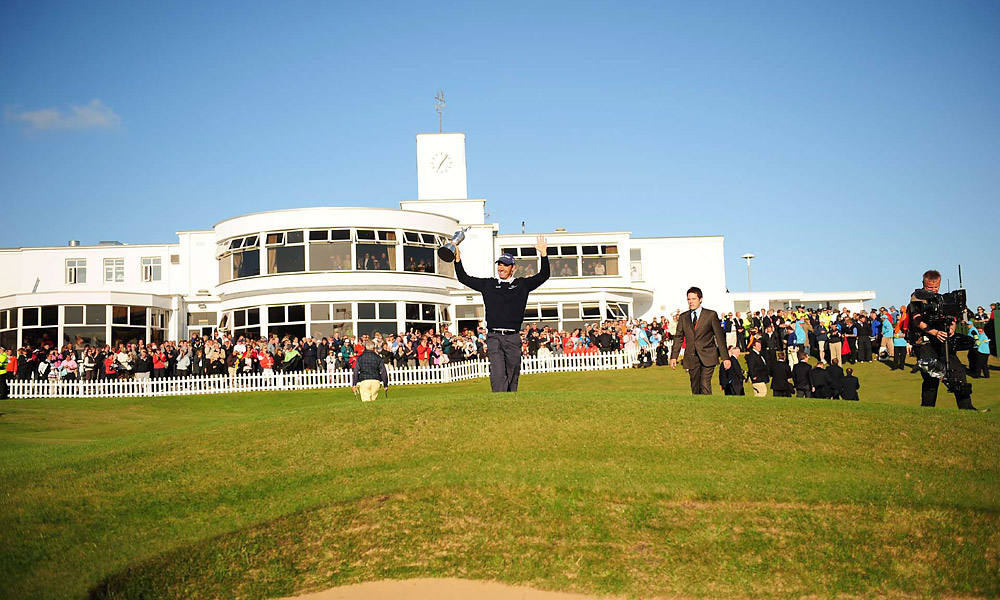 Padraig Harrington                           For a short period of time, Padraig Harrington, the greatest golfer to come out of the Republic, was untouchable in the golf world. Harrington compiled three major victories in 2007-08, including the 2007 British Open at Carnoustie, the 2008 British Open at Royal Birkdale (pictured) and the 2008 PGA Championship at Oakland Hills.
