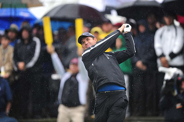 In his British Open wins, Harrington has shown an ability to handle tough conditions.