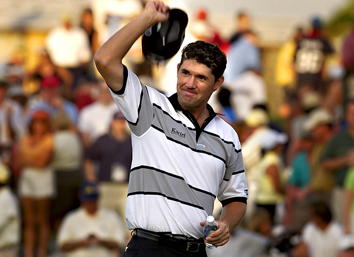 6. Paddy in 2005: Padraig Harrington became the first Irishman to win on the PGA Tour, amid the wildest ride possible. Starting the final round seven shots behind the co-leaders, Harrington birdied 10 of his first 13 holes, including six in a row, at Mirasol's Sunrise course, closing with a 63. Victory wasn't complete, however, until Vijay Singh missed a 30-inch putt on the second playoff hole, earning Paddy the win -- and a congratulatory call from Ireland's president Mary McAleese.