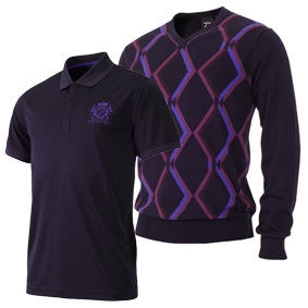 IJP Design Paragon Sweater and Tech Golo Gift Set, $185; ijpusa.com                       Give the gift of perfect color coordination (and a cool, modern take on the classic argyle sweater) with IJP Design's pre-packaged gift set. You can even include matching tissue paper in the box!