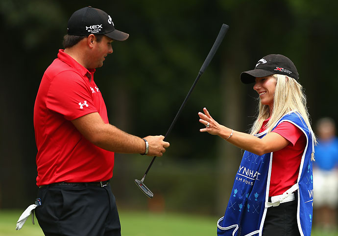 """If she wants to caddie, she can caddie.""                           --Patrick Reed on whether his wife Justine will be caddying for him at the Ryder Cup in Scotland later this month."