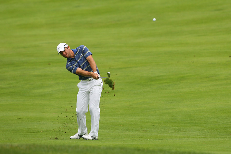 Paul Casey finished with a disappointing 75.