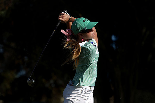 Defending champion Paula Creamer is three stokes back after a first-round 69.