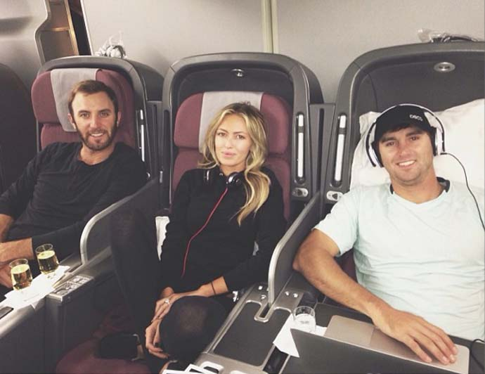 Next stop, Australia!! @djohnsonpga @austin_johnson12