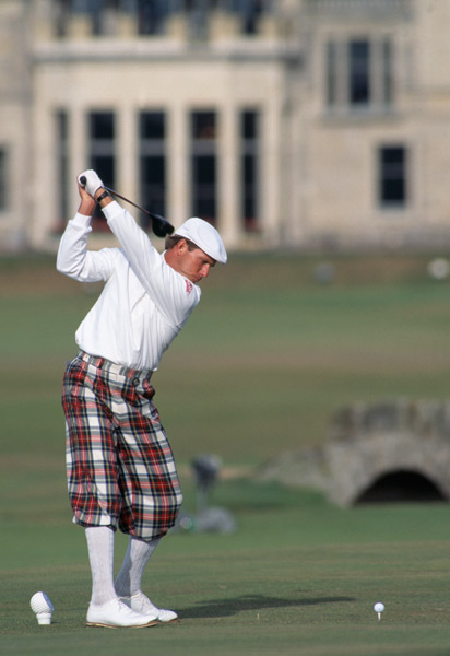 To celebrate New York Fashion Week, Golf Magazine's Jessica Marksbury compiled her list of the 10 best dressed players to grace the links. Disagree with her choices? Tweet your thoughts to @Jess_Marksbury.                                                      10. Payne Stewart                           People either love or hate the plus fours. But Payne was fully committed to this throwback look, and while he had a few color clashes, it often worked very well, especially in this photograph from the 1995 Open Championship at St. Andrews. The setting couldn't be better for Payne's look: the iconic 18th at the Old Course, the R&A Clubhouse looming in the distance, Payne's superb left arm extension at the top of his swing, and his glorious tartan plus fours. Timeless.