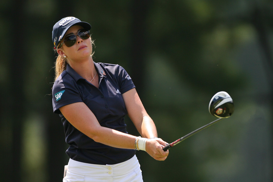 Paula Creamer shot a bogey-free 65 to build a two-shot lead heading into the final round.