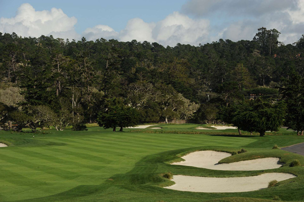 The U.S. Open is returning to Pebble Beach in 2010 for the fifth time. Take a look at some of the most famous holes in golf.                       No. 2                       Par 5                       502 yards                                                                     Pebble Beach®, Pebble Beach Golf Links® and their distinctive images, golf courses, or individual golf hole designs are trademarks, service marks, and trade dress of Pebble Beach Company. Use is by permission, with all rights reserved.