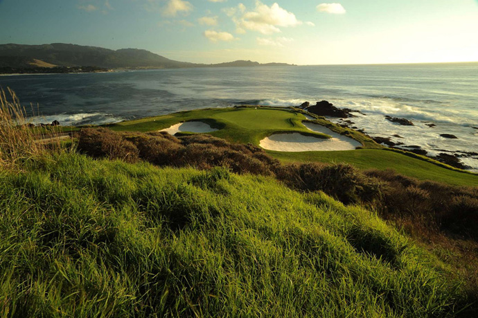 "2. Pebble Beach Golf Links -- Pebble Beach, Calif.                           Casper says: ""One of the most beautiful courses in the world overlooking the Pacific Ocean. If you play the right time of season, you can see grey whales going by. What a great, championship golf course in every sense of the word. I won the Bing Crosby Pro-Am there twice."""