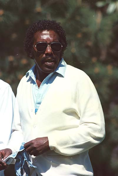 """When I came on tour in 1975, there were 10 or 12 blacks [who had been] on the tour already. I wasn't just the token black out there. I was just one of the brothers.""                           --Calvin Peete on the number of African-Americans on Tour in the 1970s versus today. [Photo of Peete at the 1980 Masters]."