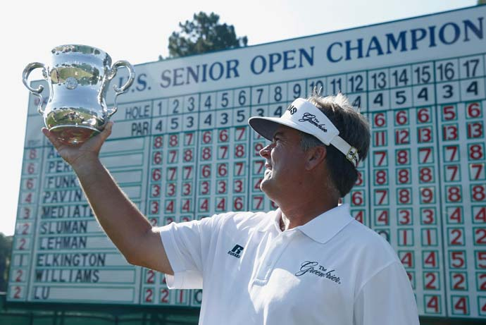 """You want an Open title by your name. To finally get it, even though it's a Senior Open, I still regard it as a very high honor.""                           --Kenny Perry on winning the U.S. Senior Open."