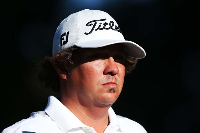 "It's tough when you're chasing history. You will be the first one to do something. I don't think I've been the first to do anything in my life. So it was a little nerve-wracking for a Friday.""                           --Jason Dufner on shooting a major-tying record 63 on Friday at the PGA Championship."