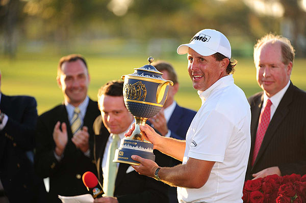 WGC-CA Championship                       Winner: Phil Mickelson                       Mickelson outlasted Nick Watney in the final round at Doral for a one-stroke victory.                        Read the entire story
