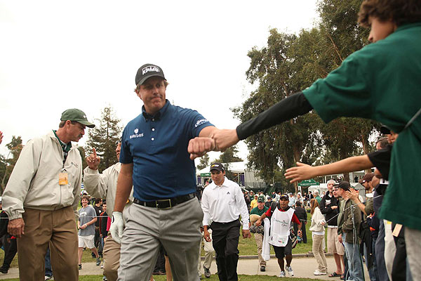 Northern Trust Open                       Winner: Phil Mickelson                       Back-to-back birdies on Nos. 16 and 17 pushed Phil Mickelson just ahead of Steve Stricker for his second consecutive win at Riviera.                                              Read the entire story