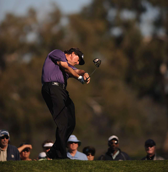 Phil Mickelson was confident in his chances at Torrey Pines during his pre-tournament press conference.