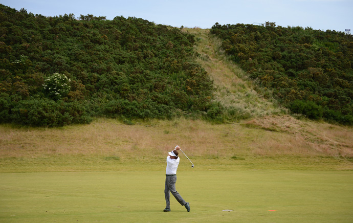 ''I have kept the ball in play as well as I ever have (on links),'' said Mickelson.