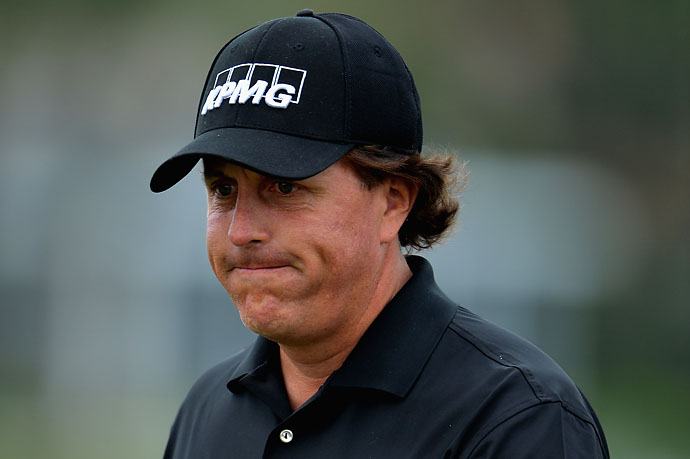 """Like most courses, it's a little tighter off the tee than I would like.""                       --Phil Mickelson on PGA National's Champions Course, host of the Honda Classic. Mickelson missed the cut."