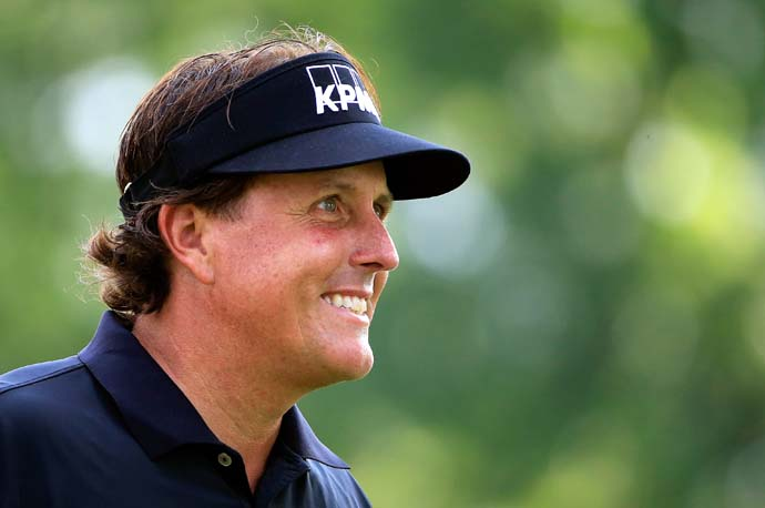 """The British Open is the greatest accomplishment I could ever get in my career because of the shots that I had to learn and the challenge that it created for me over the course of my career.""                           --Phil Mickelson on winning the 2013 Open Championship at Muirfield."